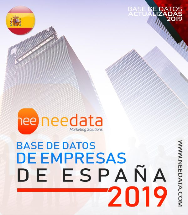 Base de datos de empresas de España 2019 Needata