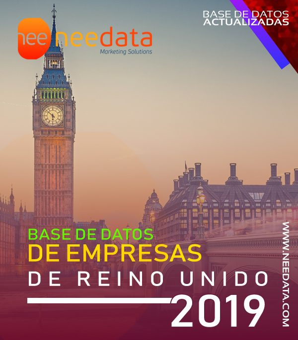 Base de datos de empresas de Reino unido UK 2019