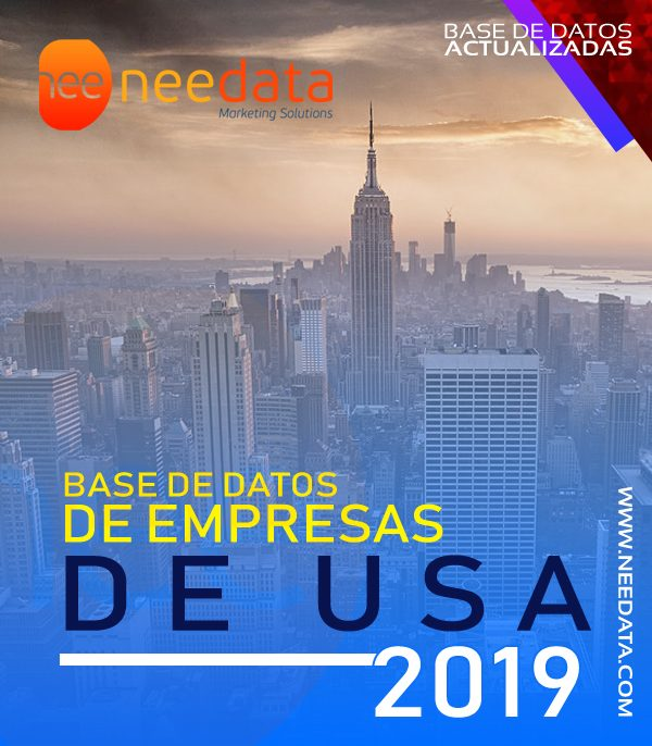 Base de datos de empresas de estados unidos USA 2019